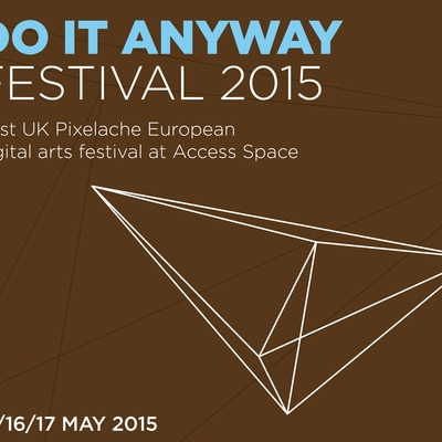 Box do it anyway festival a3 poster
