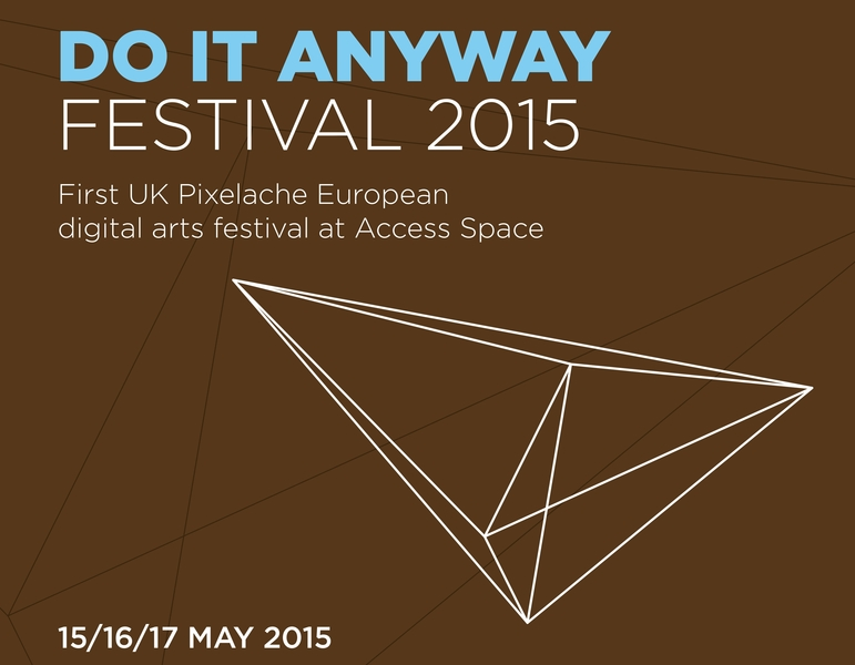 Standard do it anyway festival a3 poster