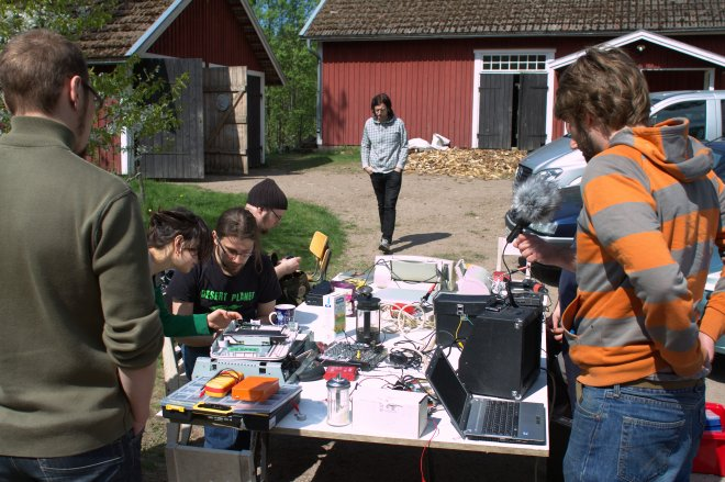 Pv11 outdoor electronics lab
