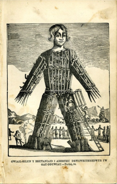 Standard wicker man