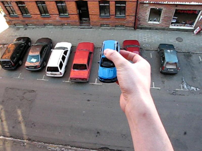 Standard handy parking