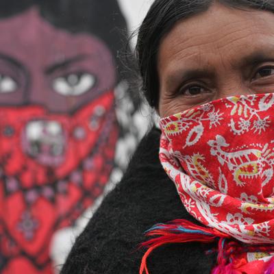 Box mujer zapatista