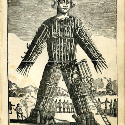 Box wicker man